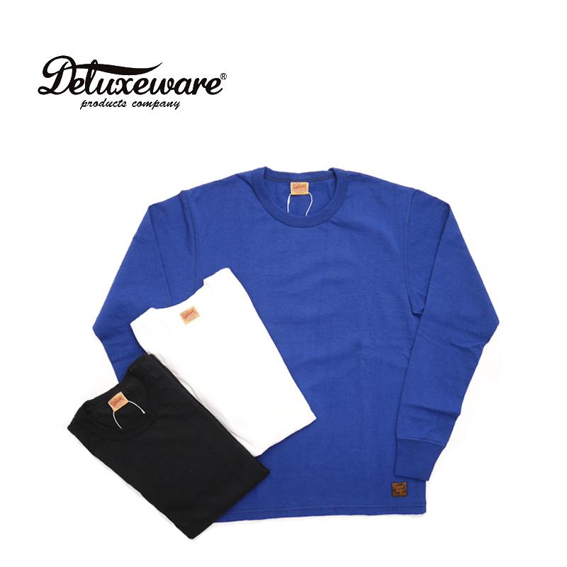 DELUXEWARE デラックスウエア 長袖 Tシャツ PLAIN DLL-P 【メンズ ヴィンテージ 日本製】10P03Dec16