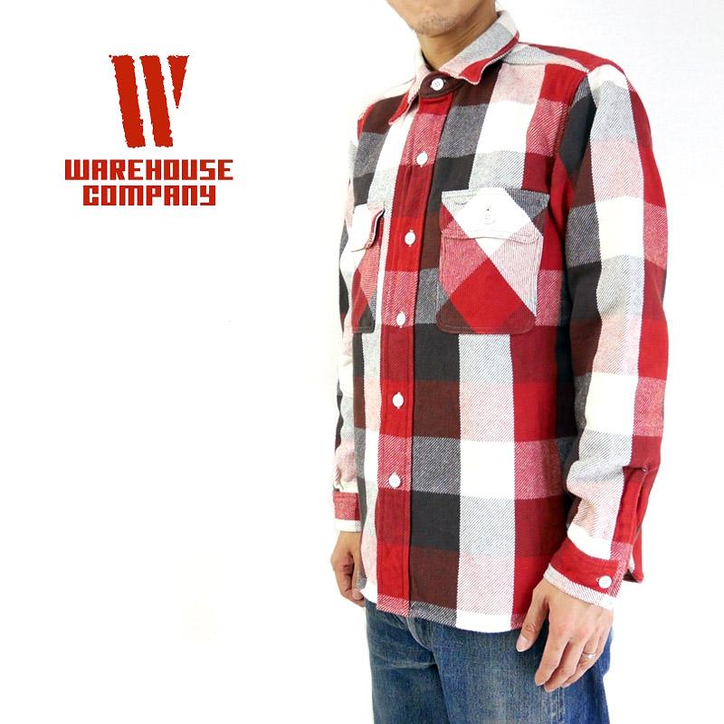 WAREHOUSE ウエアハウス シャツ FLANNEL SHIRTS 3104 【メンズ ネルシャツ】10P03Dec16