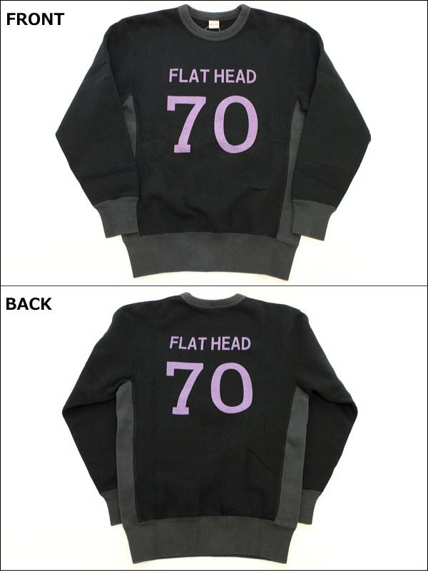 7326b4ab30 rogues  THE FLAT HEAD flat head sweat hoodie  quot SET-IN l s SWEAT ...