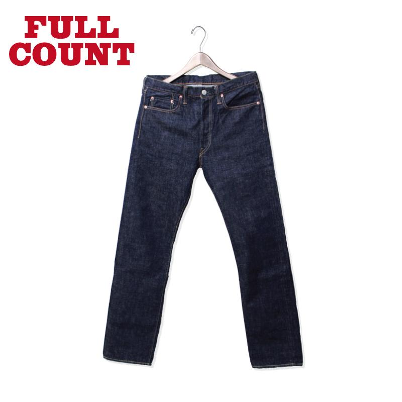 FULLCOUNT フルカウント デニム パンツ 1108 NEW STRAIGHT ONE WASH 1108W 【NEW BASIC インディゴ】10P03Dec16