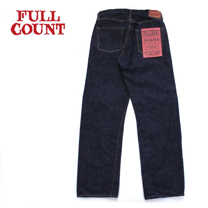 FULLCOUNT フルカウント パンツ LOOSE STRAIGHT ONE WASH 0105W 【フルカウント アメカジ デニム ジーンズ ルーズストレート】10P03Dec16