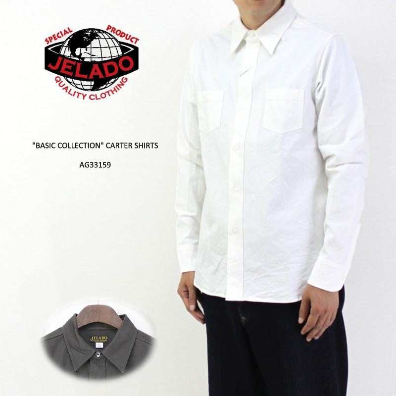 JELADO ジェラード 長袖 シャツ BASIC COLLECTION CARTER SHIRTS AG33159 【メンズ アメカジ 2018 カーターシャツ】10P03Dec16