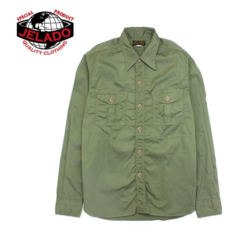 JELADO ジェラード 長袖 シャツ BASIC COLLECTION Pressman Shirts AG41125 【メンズ アメカジ シャツ ヴィンテージ】10P03Dec16