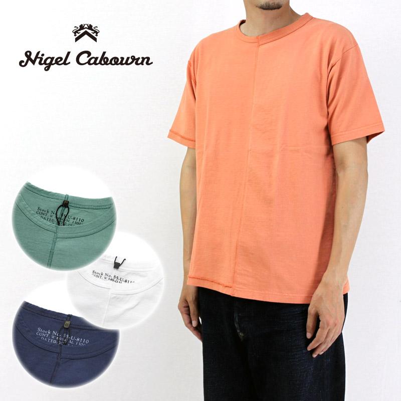 Nigel Cabourn ナイジェルケーボン 半袖 Tシャツ 40'S&50'S MIX T-SHIRT 80380021005 【メンズ ミックスTシャツ】10P03Dec16