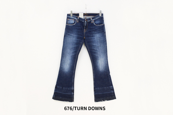 "Nudie Jeans(牛羚D牛仔裤)牛仔裤FUNKY FRANK""TURN DOWNS""112099 10P03Dec16"