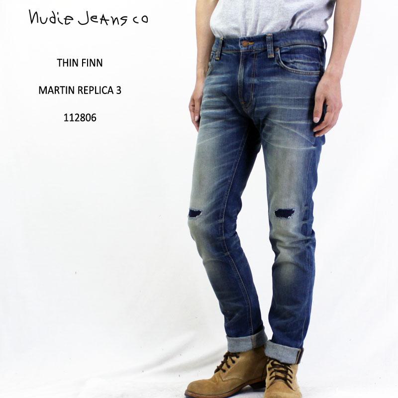 【正規品】Nudie Jeans ヌーディージーンズデニム パンツTHIN FINN