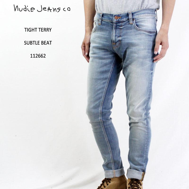 【正規品】Nudie Jeans ヌーディージーンズデニム パンツTIGHT TERRY