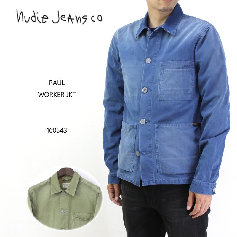 nudie jeans ヌーディージーンズ ジャケット PAUL WORKER JKT 160543 10P03Dec16