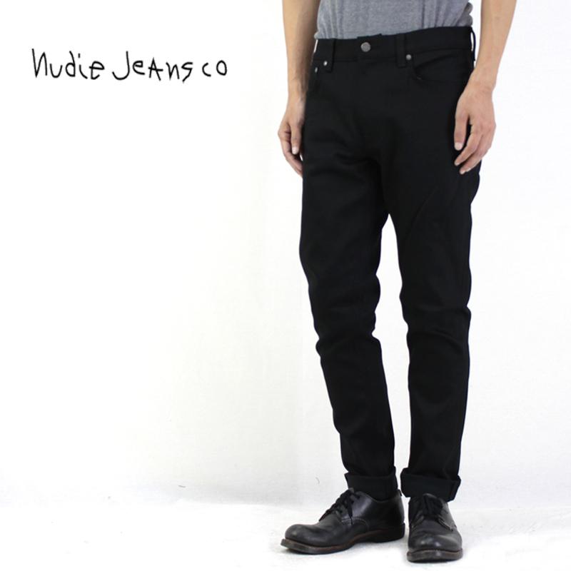 【正規品】Nudie Jeans ヌーディージーンズ デニム パンツ LEAN DEAN DRY EVERBLACK 112498 【ジーンズ ジーパン デニム メンズ オーガニック】10P03Dec16