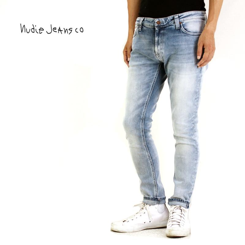 【正規品】Nudie Jeans ヌーディージーンズ デニム パンツ SKINNY LIN INDIGO MANIA 113004030【ジーンズ ジーパン デニム メンズ オーガニック】10P03Dec16