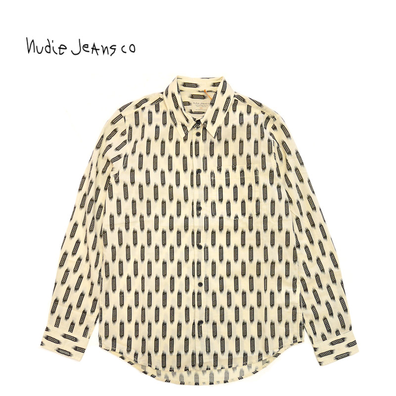 Nudie Jeans ヌーディージーンズ 長袖 シャツ