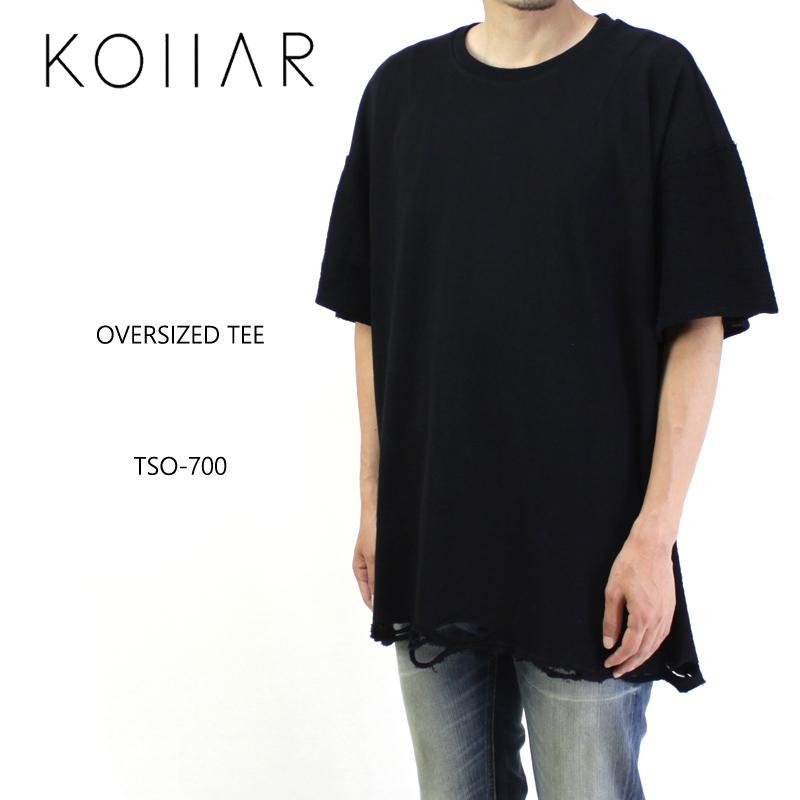 KOLLAR CLOTHING カラークロージング 半袖 Tシャツ OVERSIZED TEE TSO-700 【カナダ トロント オーバーサイズ ブラック 】10P03Dec16