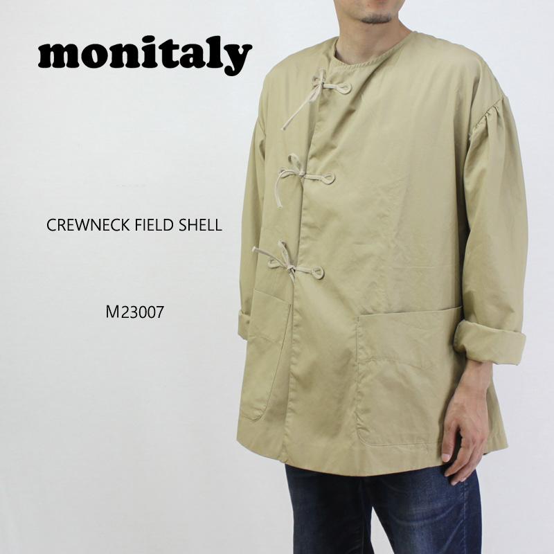 MONITALY モニタリー ジャケット CREWNECK FIELD SHELL M23007 【メンズ スモックジャケット】10P03Dec16