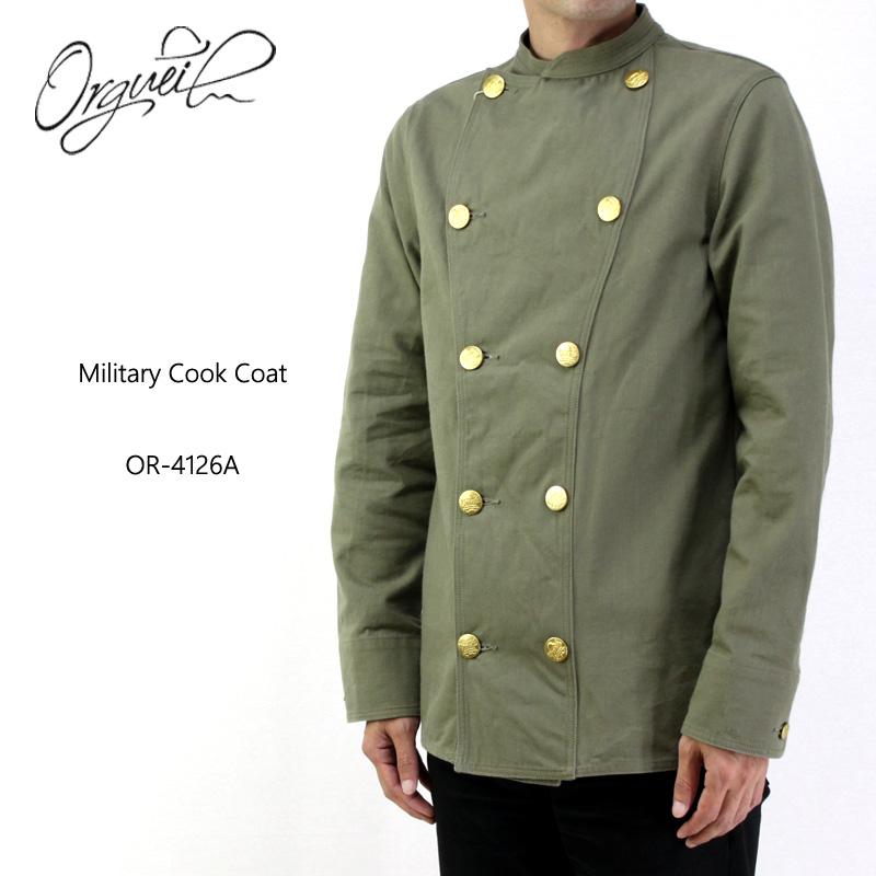 ORGUEIL オルゲイユ ジャケット Military Cook Coat OR-4126A 【メンズ ミリタリー コックコート】10P03Dec16