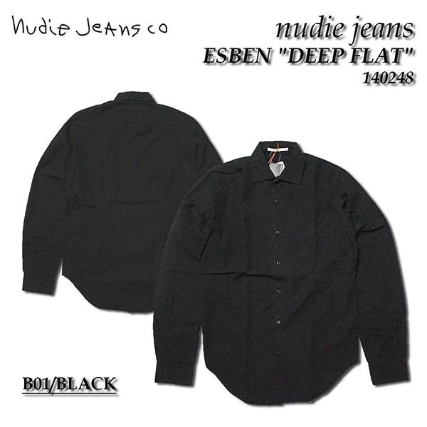 nudie jeans ヌーディージーンズ 長袖シャツESBEN