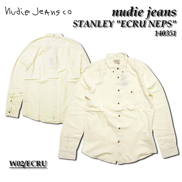 nudie jeans ヌーディージーンズ 長袖シャツSTANLEY