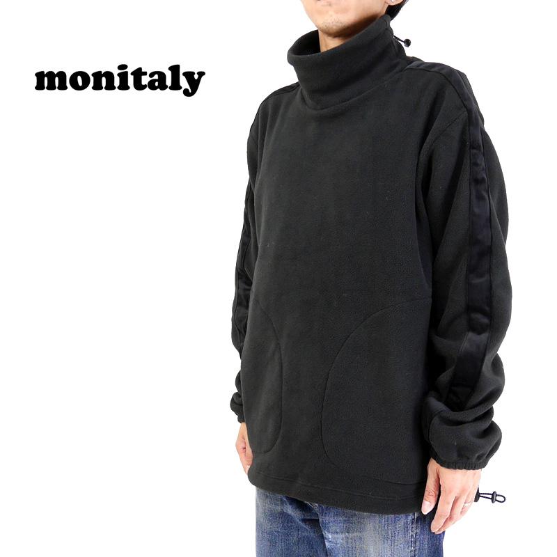 MONITALY モニタリー フリース Kog Risu Fleece Mock Neck Pullover M26706 【メンズ フリース 】10P03Dec16