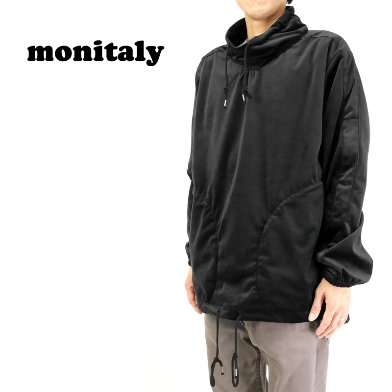 MONITALY モニタリー フリース Mock Neck Pullover M26707 【メンズ フリース 】10P03Dec16