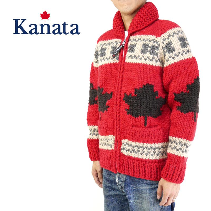 Kanata カナタ カウチンセーター特別モデル ろーぐす別注