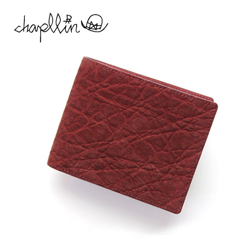 chapllin チャップリン ウォレット 5th ANNIVERSARY LIMITED MODEL 「rouGe」 ELEPHANT LEATHER SHORT WALLET CPW-S-EL-RG 【財布 本革 エレファント 象革 レザー 二つ折り ショート ルージュ 限定】10P03Dec16