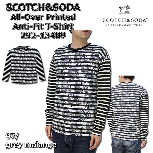 SCOTCH&SODA スコッチアンドソーダ 長袖Tシャツ