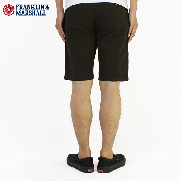"FRANKLIN MARSHALL(富蘭克林·馬歇爾)短褲·半褲子SKINNY FIT SHORTS ZIP FLY""LEO""STMCA420 10P03Dec16"