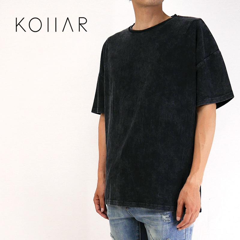 KOLLAR CLOTHING カラークロージング 半袖 Tシャツ Vintage Wash Tee VWTGRY22 【カナダ トロント オーバーサイズ グレー 】10P03Dec16