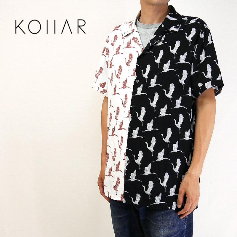 KOLLAR CLOTHING カラークロージング 半袖 シャツ Resort Shirt RSHHB21 【カナダ トロント 】10P03Dec16