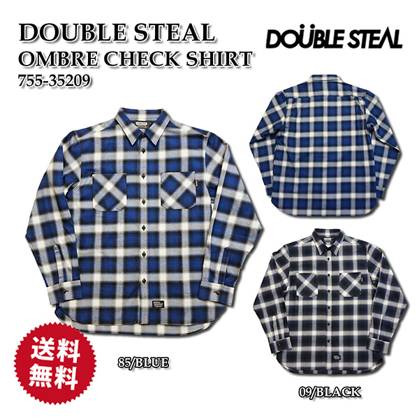 DOUBLE STEAL ダブルスチール ストリート長袖シャツ