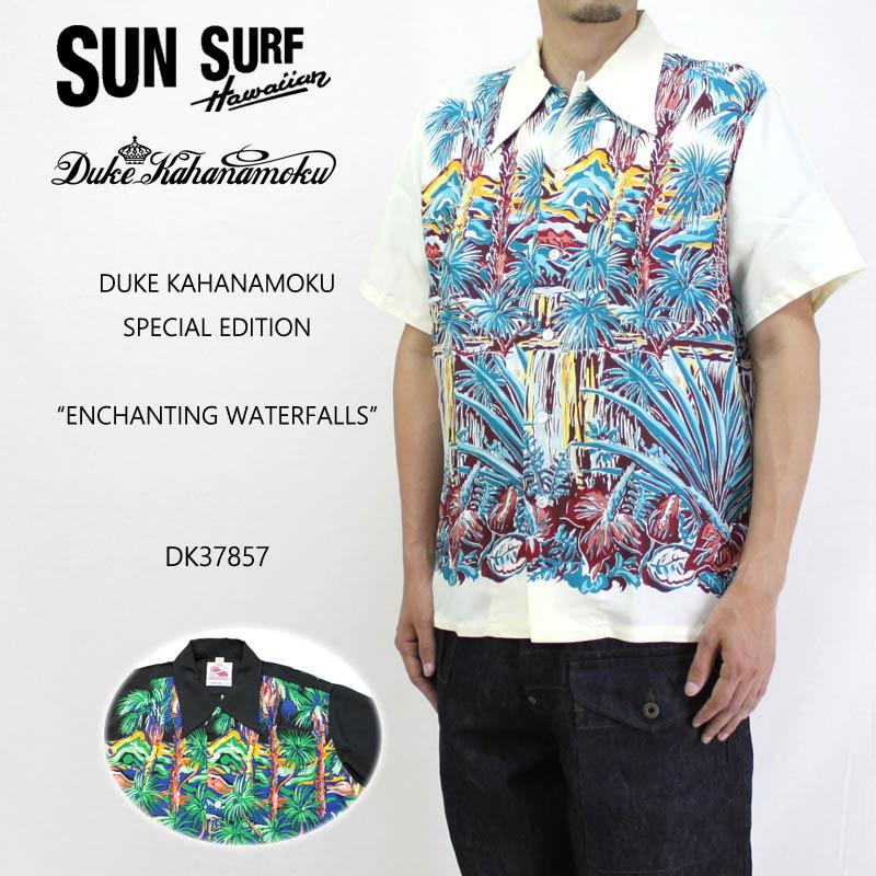 SUN SURF サンサーフ半袖 アロハ シャツDUKE KAHANAMOKUSPECIAL EDITION