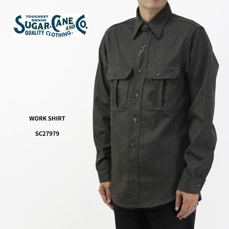 SUGAR CANE シュガーケーン 長袖 シャツ Made in U.S.A WORK SHIRT SC27979 【メンズ 東洋エンタープライズ シャツ アメリカ製】10P03Dec16