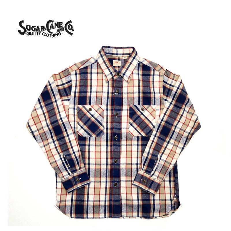 SUGAR CANE シュガーケーン長袖シャツ
