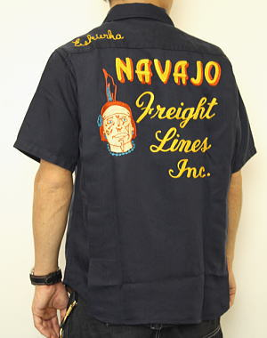 KingLouie キングルイ 東洋エンタープライズボーリングシャツKing Louie by Holiday『NAVAJO Freight Lines Inc.』KL3508510P03Dec16【smtb-k】【ky】