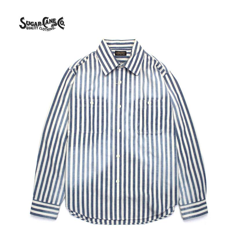 SUGAR CANE シュガーケーン 長袖シャツ