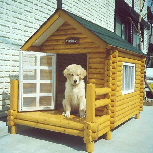 ログペットハウス 1250型 犬小屋 大型犬 中型犬 小型犬 屋外 ゴールデンレトリバー 柴犬 ラブラドールレトリバー