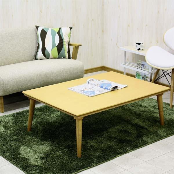 こたつ コタツテーブル 長方形 幅105cm 北欧モダン コタツのみ