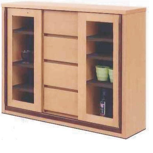 キャビネット サイドボード 幅90cm 完成品 引き戸 木製 北欧 モダン