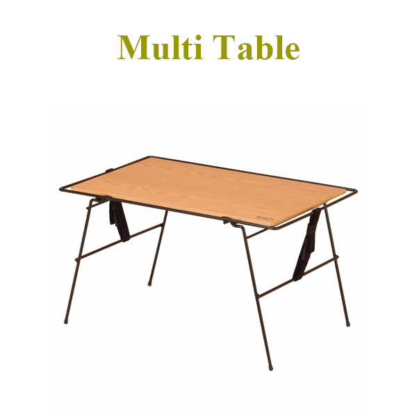 ソロでなくてもサイドテーブルやサブテーブルとしても活躍。幅70cmのマルチテーブル。 アウトドアテーブル マルチテーブル キャンプテーブル テーブル 幅70cm 木製 アウトドア キャンプ 長方形 【送料無料】【代引き不可】