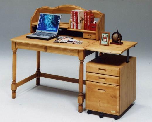 学習机/日本製/デスク 木製 セレナ 105学習机 ライトブラウン