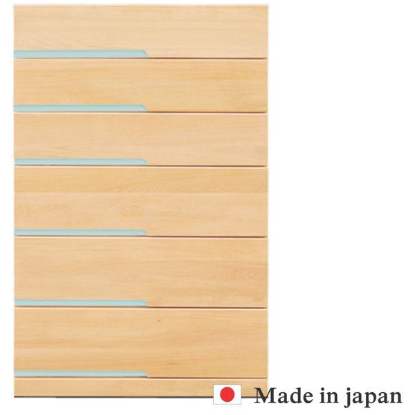 チェスト タンス ハイチェスト 整理ダンス たんす シンプル モダン 幅80 日本製 衣類収納 大川家具 北欧ミッドセンチュリー ナチュラル ブラウン カラフル 送料無料