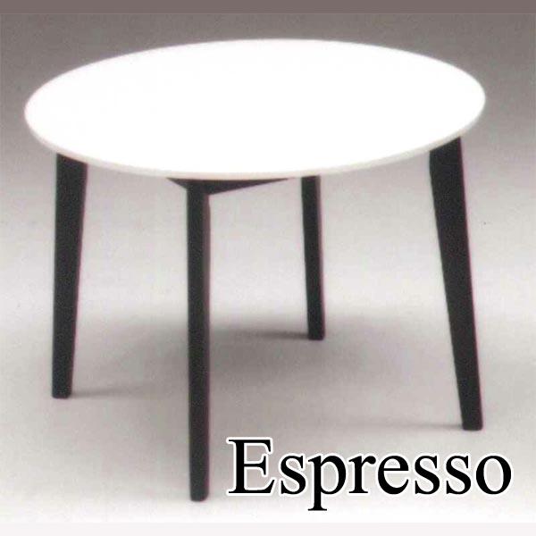 ダイニングテーブル 丸型テーブル 食卓テーブル 幅100cm 丸 円 鏡面 光沢 ホワイト 白 木製 北欧 モダン カフェ