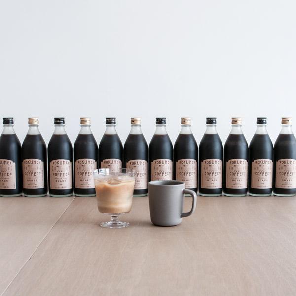 送料無料 ロクメイコーヒー スペシャルティコーヒー カフェベース 500ml 12本セット | スペシャリティコーヒー カフェオレベース 無添加 ブラック 無糖 ハニー 微糖 お湯だけ ミルク 牛乳 アイス 希釈 冷 瓶 ボトル おしゃれ 高品質 高級 人気