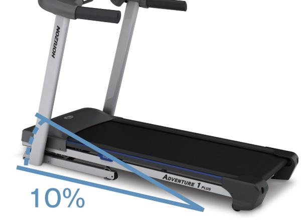 ★要點10倍的★跑步機器ADVENTURE 1 PLUS■跑步機器■地平線■約翰遜健康技術