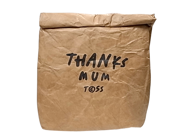 Tcss The Critical Slide Society Cooler Lunch Paper Bag Cold Storage Back Mum