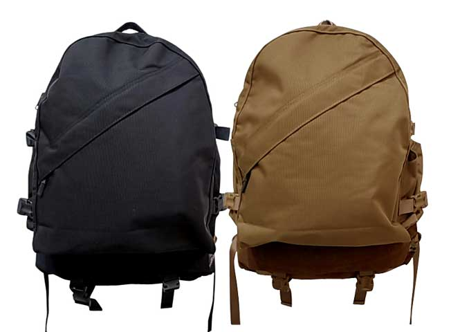 COMFY OUTDOOR GARMENT コムフィ WEEKENDERZ BACKPACK ウィークエンド バックパック 2色(C.BROWN/BLACK)