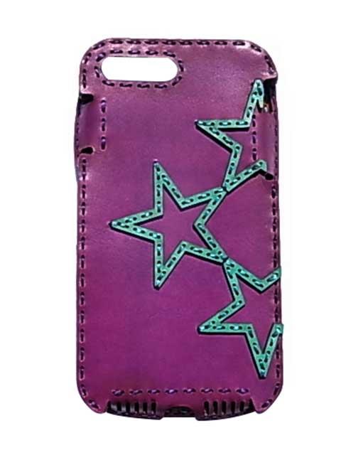 Ojaga design オジャガデザイン OJAGA STAR iPhone7Plus/8Plusケース パープル/エメラルド アイフォン7プラス/8プラスケース メイドインジャパン