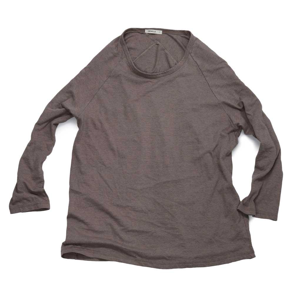 remilla レミーラ ヒトエ ラグラン 9分 Tee Tシャツ