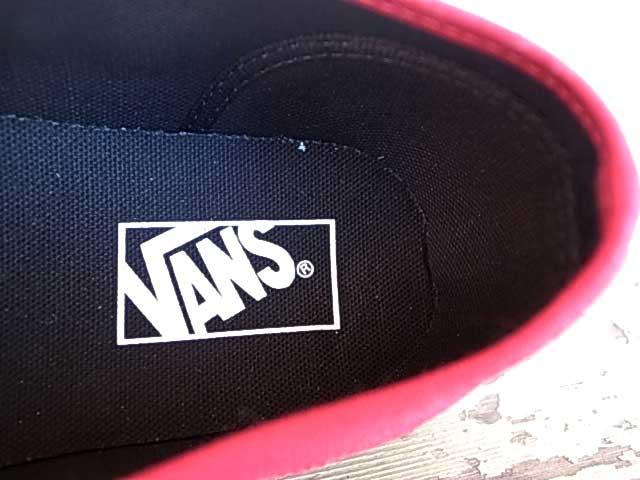 ★SALE 30%OFF★VANS卡車Authentic確實的(Black Sole)Jester Red黑色鞋底VANS旅行車