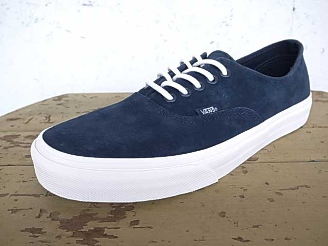 VANS vans Authentic Decon authentic (Scotchgard) Blue Graphite Scotch Guard  blue graphite VANS vans