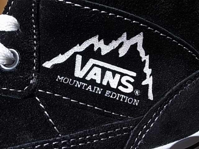 VANS卡車Mt.EDITION山版本V42S BLACK黑色旅行車